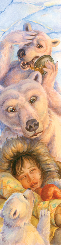 """Coldilocks & The Three Polar Bears"" by Kate Garchinsky"