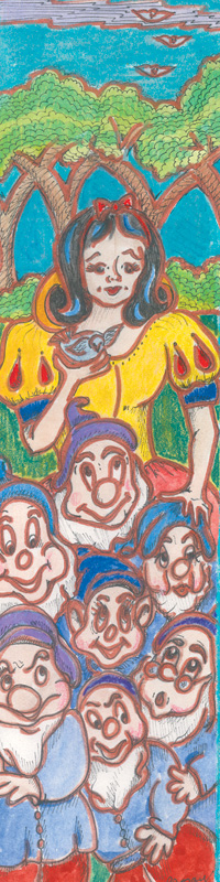 """Snow White & The Seven Dwarfs"" by Ruth Joray"