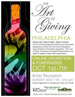 2012 The Art Of Giving Philadelphia Flyer